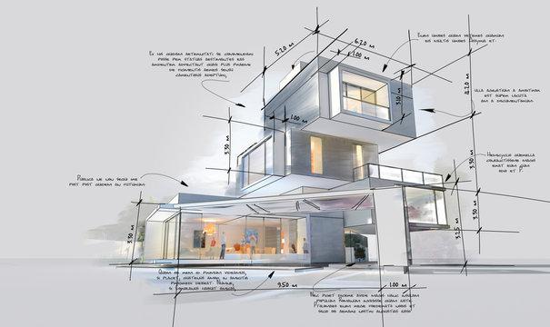 Architecture design development phases
