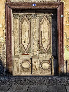 Marode Tür