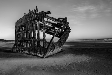 Garden Poster Shipwreck Wreck of the Peter Iredale