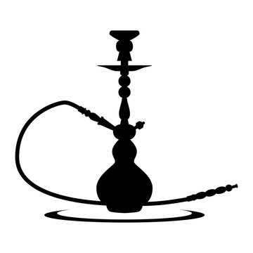 shisha hookah pipe clip art symbol