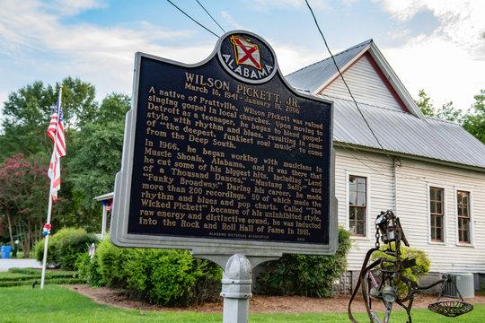 Wilson Pickett sign in Prattville