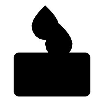 Floor drain sanitation icon