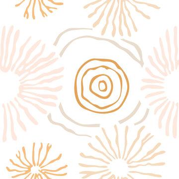 Spores Seamless Pattern