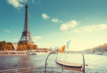 Fotomurales - Eiffel tower, Paris. France