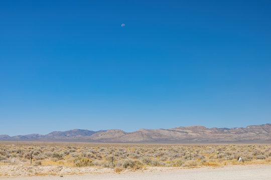 Rural landscape of the Area 51 area