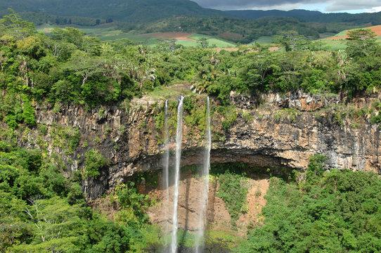 Mauritius, Chamarel, Tamarin Falls
