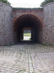 Fototapeta entrance to the castle
