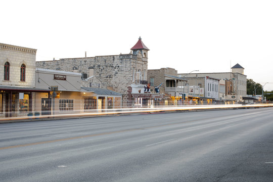 Early Morning in Fredericksburg, Texas