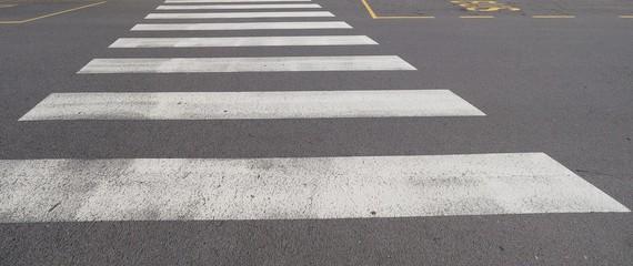 Printed roller blinds Zebra zebra crossing sign