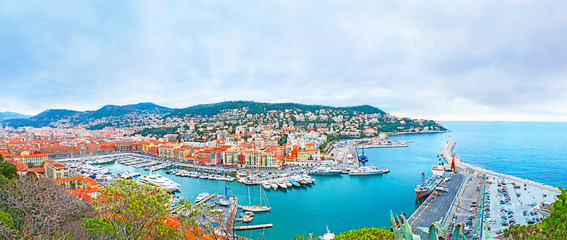 The harbour of Nice