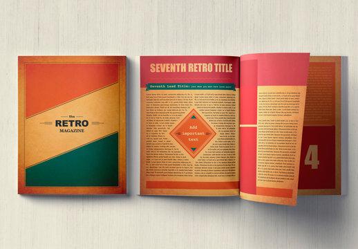 The Retro Magazine Layout