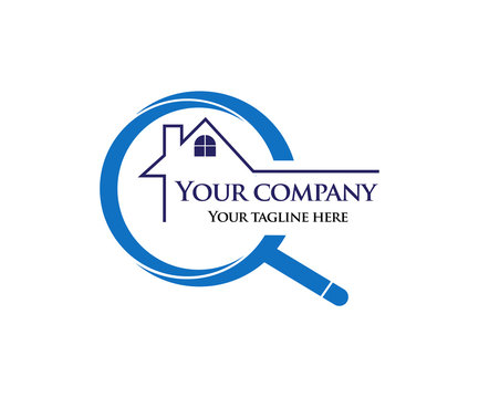 home inspection logo for company