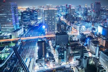 Wall Mural - 都市風景 東京 夜景