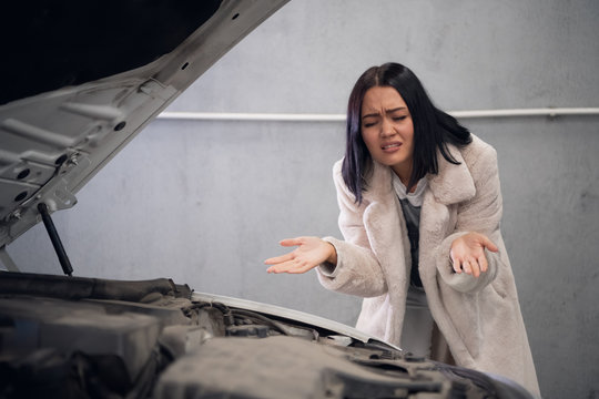 The client is angry because her car was not repaired
