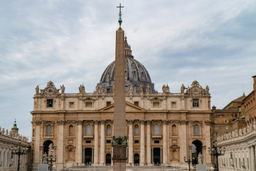 St. Peter's Basilica, St. Peter's Square, Vatican City, Rome, Italy