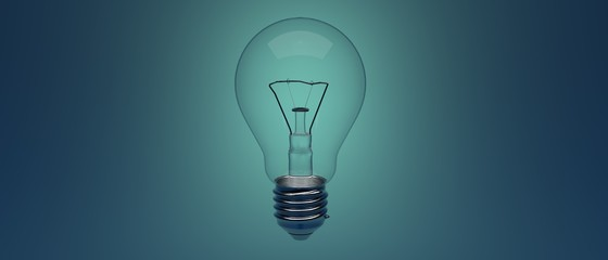 Business, technology, internet and networking concept. Light Bulb innovation Solution.