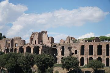 Temple of Apollo Palatinus at Circus Maximus, Rome, Italy