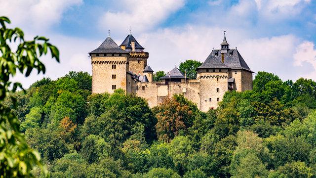 Burg Malbrouck Teleaufnahme