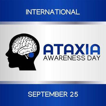 International Ataxia Awareness Day Vector Illustration