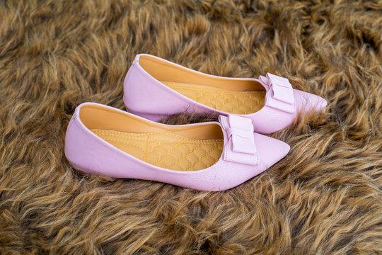 Woman Pink Shoe