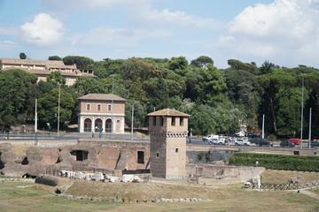 Circus Maximus (Circo Massimo) - ancient Roman chariot racing stadium and mass entertainment venue located in Rome