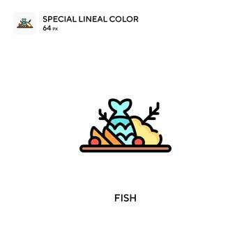 Shibainu Special lineal color icon. Illustration symbol design template for web mobile UI element. Perfect color modern pictogram on editable stroke.