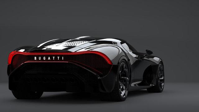 Bugatti La Voiture Noire, the most expensive car in the world.