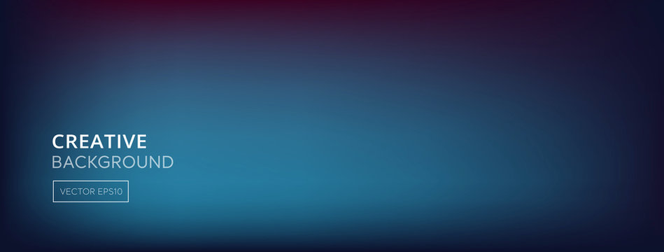 Abstract blend dark blue purple gradient banner background