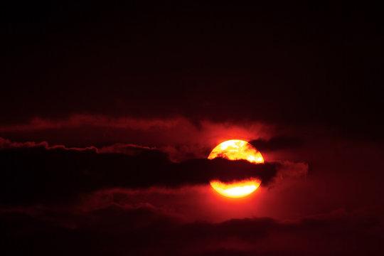 Colorado Wildfire Sunrise
