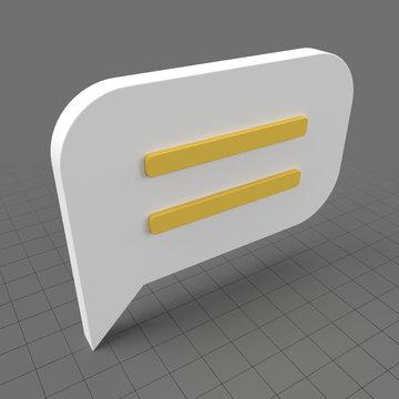 Text icon 3