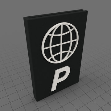 Stylized passport