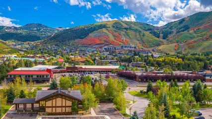 Fototapete - Park City, Utah, USA