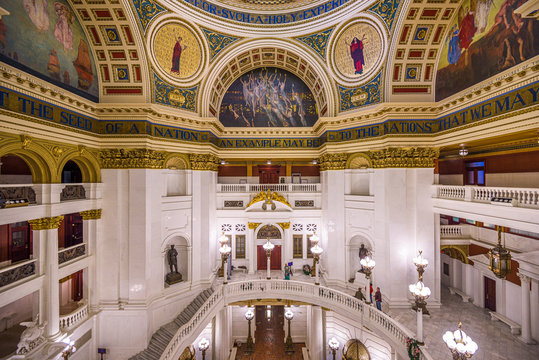 Pennslyvania State Capitol