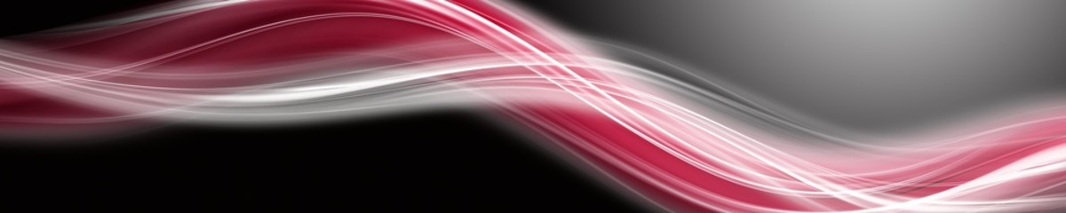 Papiers peints Abstract wave Abstract romantic wave panorama background design illustration