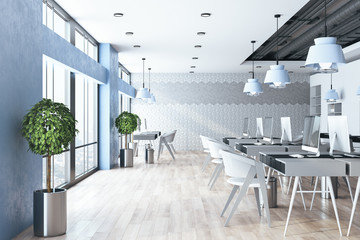 Coworking office interior