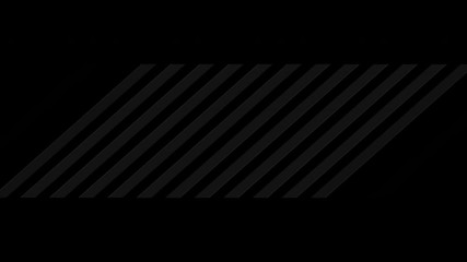 Wall Mural - Black hi-tech concept abstract stripes. Dark technology geometric motion background. Seamless looping. Video animation Ultra HD 4K 3840x2160