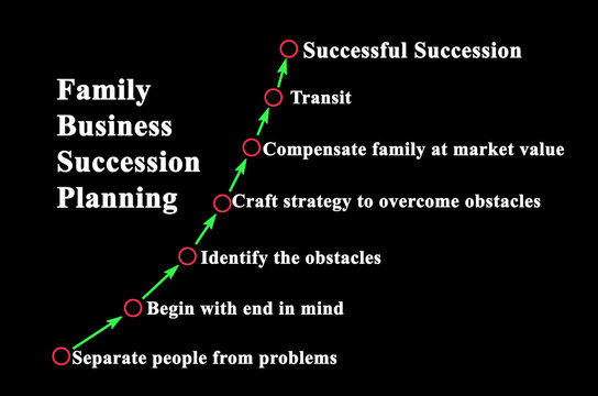 Steps in  Family Business Succession Planning