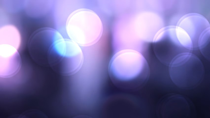 Wall Mural - Abstract purple colorful bokeh background blur