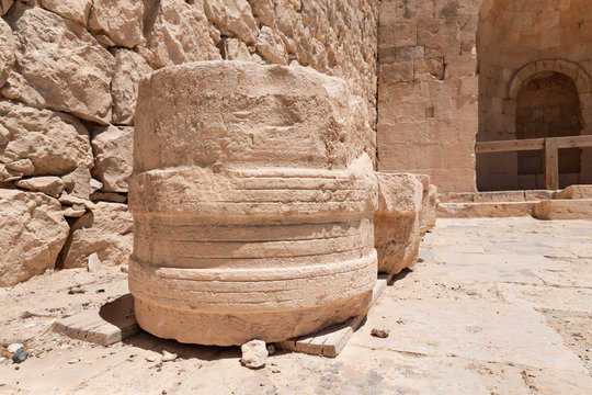 Shivta - a national park in  southern Israel, includes the ruins of an ancient Nabatean city in the northern Negev.