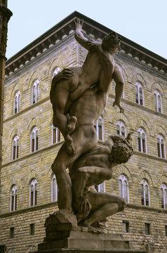 Sabina sculptures from Loggia della Signoria in Florence
