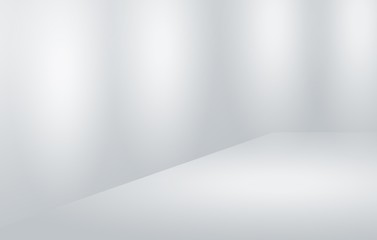 Abstract gray gradient luxury soft background white light, layout design, web template, radial effect blurred, used for background wallpaper studio empty room and display you.
