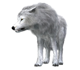 Dire Wolf Pack Leader - The predatory Dire Wolf prowled the forests of North and South America during the Pleistocene Period.