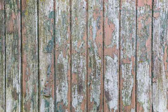 old wooden planks