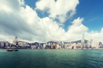 Fotomurales - Hong Kong harbour, perfect day