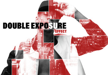 Double Exposure Artwork