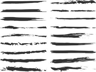 筆描きラインセット 2