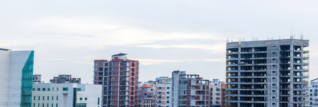 Dhaka city Buildings View (CityScape)