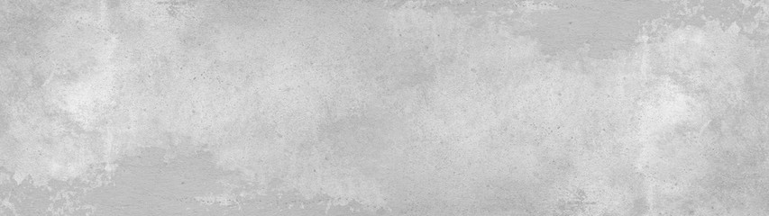 Grey gray white stone concrete texture background panorama banner long