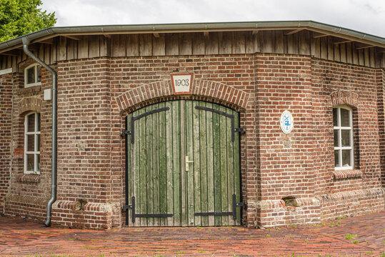 Eingang in die  Johannimühle Fulkum