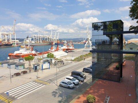 Hafen von Koper in Slowenien